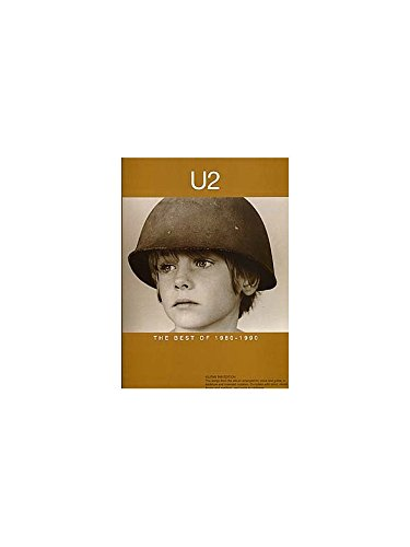 U2: The Best Of 1980-1990. Sheet Music for Guitar Tab(with Chord Symbols)