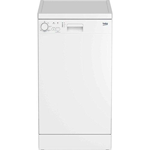 Beko DFS05010W 10 Place Slimline Freestanding Dishwasher - White