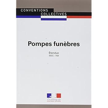 Pompes funèbres/Convention collective nationale-IDCC 759