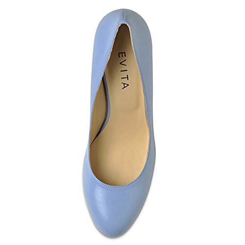 Evita Shoes, Scarpe col tacco donna Blu (blu chiaro)