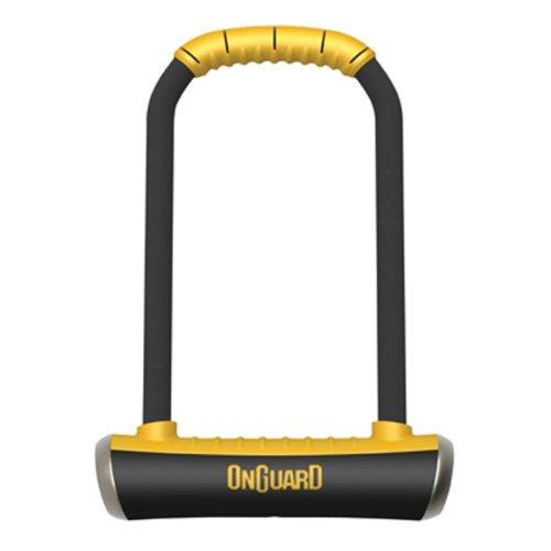 Onguard Bügelschloss Brute LS-8000, mit Schlüssel, Schwarz, 11,5x26cm