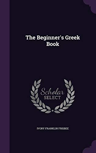 The Beginner's Greek Book