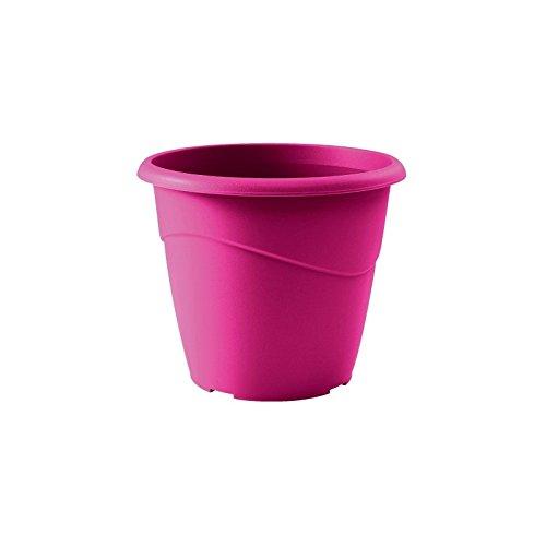 EDA Pot rond non percé Marina Ø 30cm - Contenance 10l - Rose fuchsia