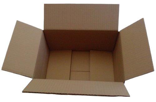 14 Tintenpatronen (100 x Faltkarton Karton Versandkartons 305x215x140 mm 30,5x21,5x14 cm)
