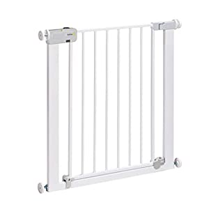 Safety 1st Secure Tech Auto Close Metal Gate, White   10