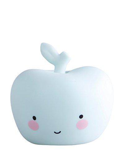 Preisvergleich Produktbild A little lovely company - Nachtlampe Nachtlicht - Apfel - Mini apple light - Farbe: Mint