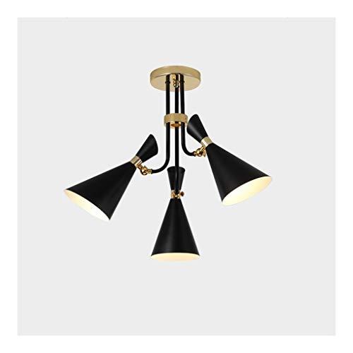 Kronleuchter JUE, Nordic postmoderne Stil Wohnzimmer Café Schlafzimmerlicht kreative Persönlichkeit frei einstellbare Lampen A Beleuchtung ++ A++
