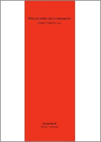 Didier Debaise - Philosophies des possessions de Didier Debaise (Sous