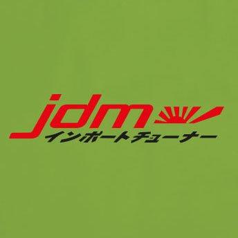 Oliv Stofftasche Logo Japanisch JDM Beutel xPAqFWI