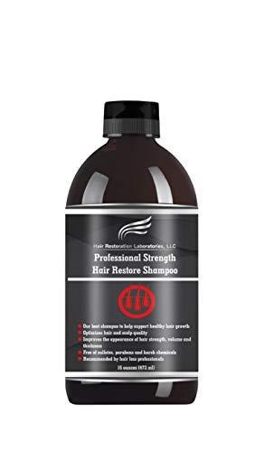 Hair Restoration Laboratories, LLC Shampoo für Haarausfall und Regenerationsshampoo für Männer und Frauen (mehr als 20 DHT-Blocker)