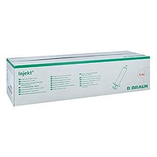 Braun Injekt Spritzen mit exzentr. Konus Luer 100X5 ml