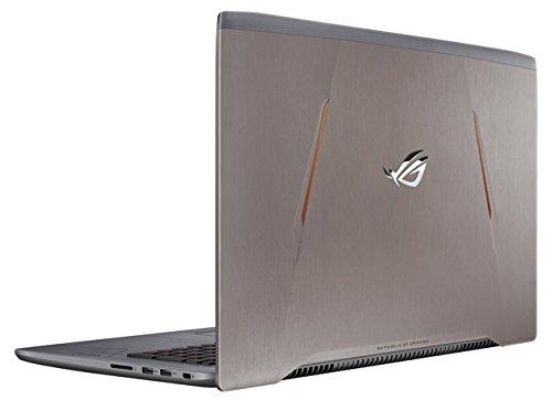 "Asus ROG GL502VM-FY200T Portatile, 15.6"" FHD IPS LED, Intel i7-7700HQ, SSD da 128 GB e HDD da 1024 GB, 16 GB di RAM, nVidia Geforce GTX 1060, Oro (titanium Gold)"