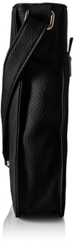 GERRY WEBER - Talk Different II Shoulder Bag V, L, Borse a Tracolla Donna Nero (Nero (Black 900))
