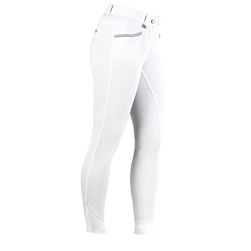 United Sportproducts Germany USG AVA Full Grip Reithose Kinder Größe: 152 Farbe: Weiss