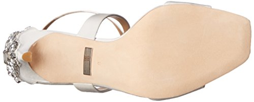 Badgley Mischka Cadence Textile Sandale Whtsat