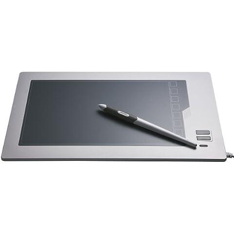 Perixx PERITAB-502, Tableta grafica con bateria-libre tecnologia Pen - 326.5x202x9.4mm Tamano - 9x5.75 Area de Trabajo Inch - 2048 Nivel -