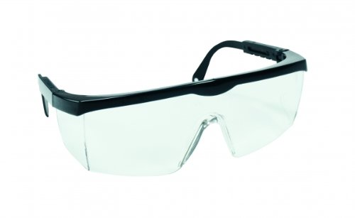 Laborbrille Modell 659/2 blau, Schutzbrille, modisch, Tragekomfort