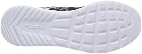 adidas Damen Cloudfoam QT Racer Fitnessschuhe Schwarz (Core Black/core Black/ftwr White Core Black/core Black/ftwr White)