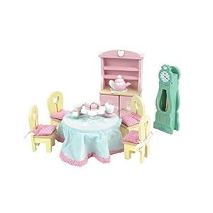 Daisylane Le Toy Van ME056 MUÑECAS Casas-roomsets Rosebud Drawing Room