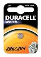 Duracell Knopfzelle Silberoxid Uhrenbatterien (SR41/392/384)
