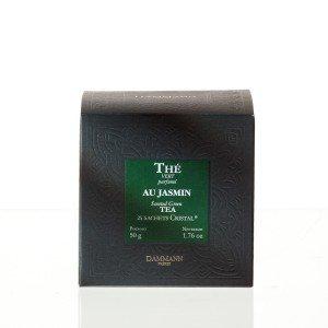 Thé vert au Jasmin- Boîtes 25 sachets Cristal / Les Thés Verts