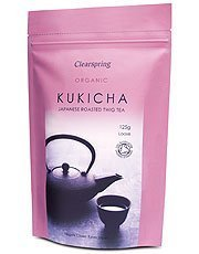 Organic Japanese Roasted Twig Tea Kukicha loose 125g
