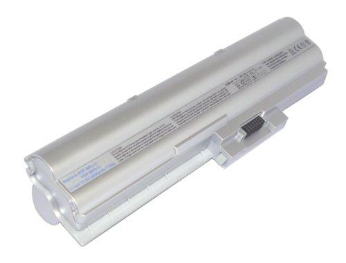10,80V 6600mAh Li-Ion Batterie de remplacement pour Sony VAIO VGN-Z790DKX, VAIO VGN-Z790DLX, VAIO VGN-Z790DMR, VAIO VGN-Z790DND, VAIO VGN-Z890GLX, VAIO VGN-Z890GNE, VAIO VGN-Z691Y/B, VAIO VGN-Z691Y/X
