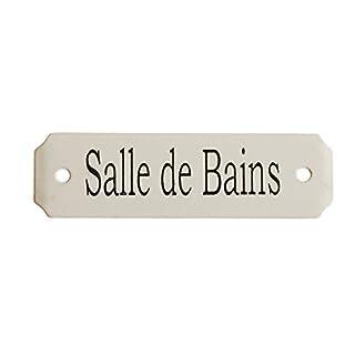 Au Bain de Marie Türschild für Badezimmer, klein, französische Aufschrift