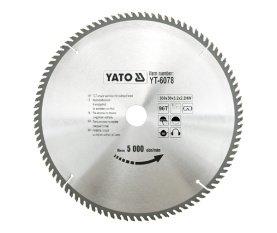 Preisvergleich Produktbild Yato yt-6078–Hartmetall-Kreissägeblatt 300x 96x 30mm