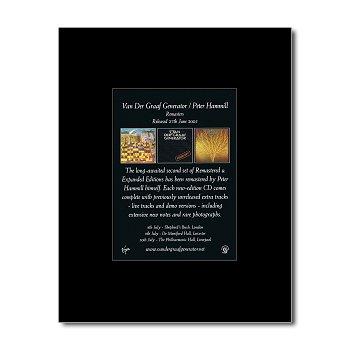 VAN DER GRAAF GENERATOR - Remasters 2 Matted Mini Poster - 13.5x10cm