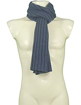 GAD by Tangram 153025 jeans sciarpa coste 3x3 puro 100% cashmere