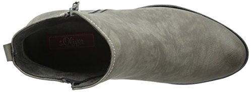 Botas S 25302 oliver Cinza Curto Senhoras 206 grafite wtzfqt