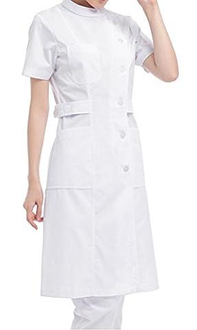 Nanxson(TM) Women's Long Sleeve Nurse Dress Uniform Lab Coat