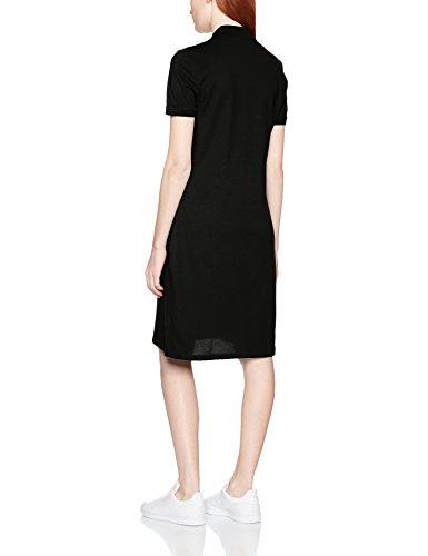 Lacoste Damen Kleid Schwarz (Noir)