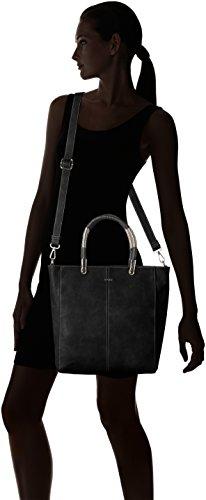 Picard - Shopper Cool, Borsa a mano Donna nero (nero)