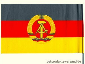 Ostprodukte-Versand.de Papierfahne DDR Winkelement   Ostalgie   DDR Traditionsprodukte - Münzen Buch Seltene