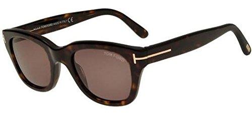 Tom Ford Herren FT0237 52N 50 Sonnenbrille, Braun (Avana Scura/Verde),