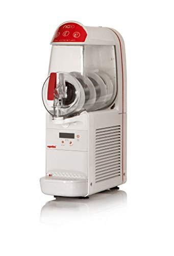 Máquina para granizados sorbetes cremas frías UGOLINI NG10/1 ELETTRONIC - Contenedor de 10 litros - Dispensador Made in Italy