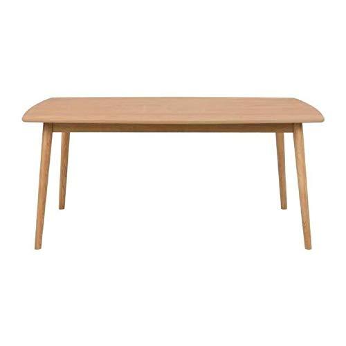 AC Design Furniture Nagano 64816 Table à Manger en chêne Massif Env. 180/90/76 cm