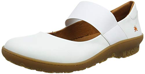 art Damen 1426 Grass Antibes Mary Jane Halbschuhe, Weiß (White White), 42 EU