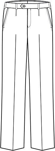 GREIFF Herren-Hose Anzug-Hose SERVICE CLASSIC – Style 8024 – schwarz – Größe: 54 - 2