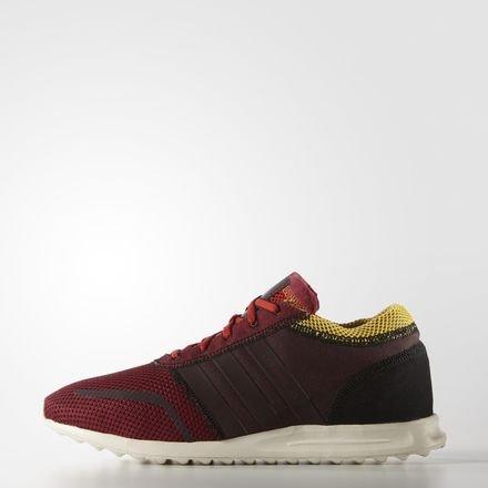 Adidas uomo los angeles scarpe sportive rosso size: eu 42 2/3 (uk 8.5)