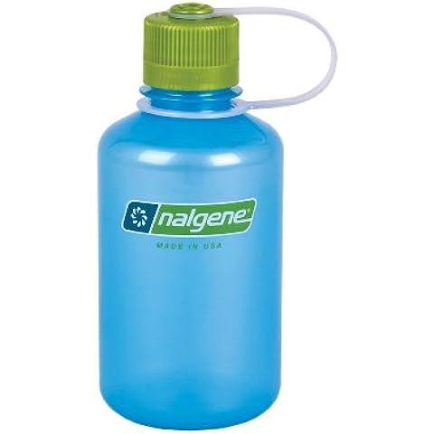 Nalgene NL20782039 - Bidón con boca estrecha de acampada y senderismo, color azul