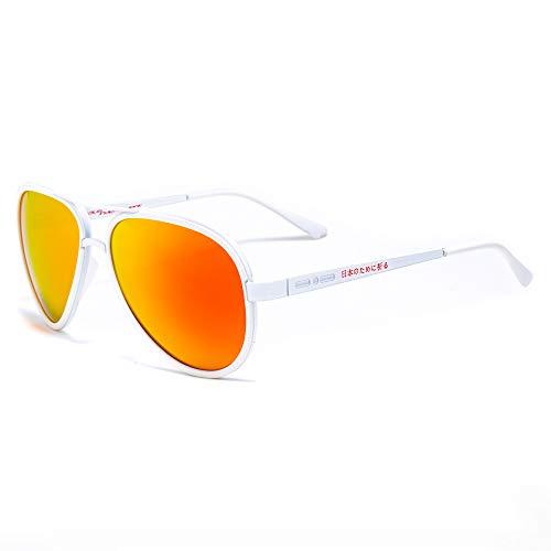 Italia Independent Unisex-Erwachsene 000B-JAP-000 Sonnenbrille, Weiß (Blanco), 57.0