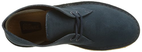 Clarks Originals Desert Boot, Chaussures de ville homme Blau (Midnight Suede)