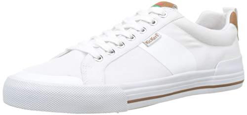 Kickers Arty, Baskets Hommes, (Blanc 3), 45 EU