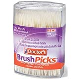 Brushpicks Toothpicks By Prestige Brands - 250 Ea