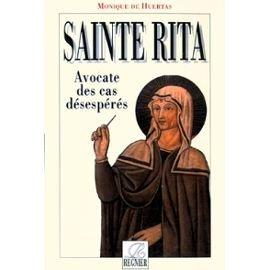 SAINTE RITA AVOCATE DES CAS DESESPERES