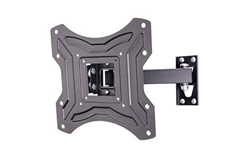 AmazonBasics - Soporte de pared inclinable y giratorio con un solo brazo, para televisión, de 58,4...