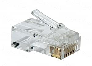 D-Link Cat 5 RJ 45 Cable Connector - Pack Of 100 Pieces